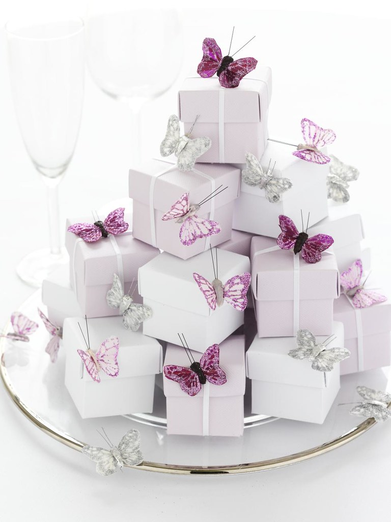 Butterfly Themed Favor Boxes : Favour boxes butterfly trims visit our website to see