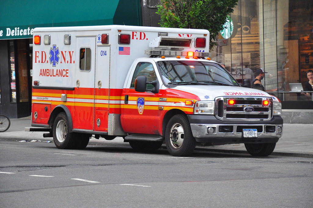 fdny ems ambulance   ford fhorton fa flickr