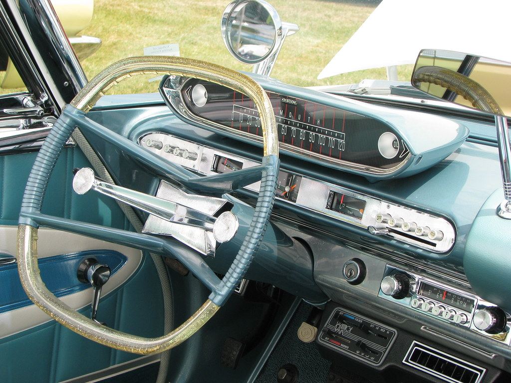 Dodge Aero >> 1960 Plymouth Fury interior | Equipped with an optional aero… | Flickr