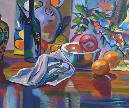 Still Life with Oranges | by Clyde Semler