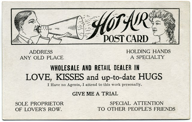 Dealer in Love, Kisses, and Up-to-Date Hugs