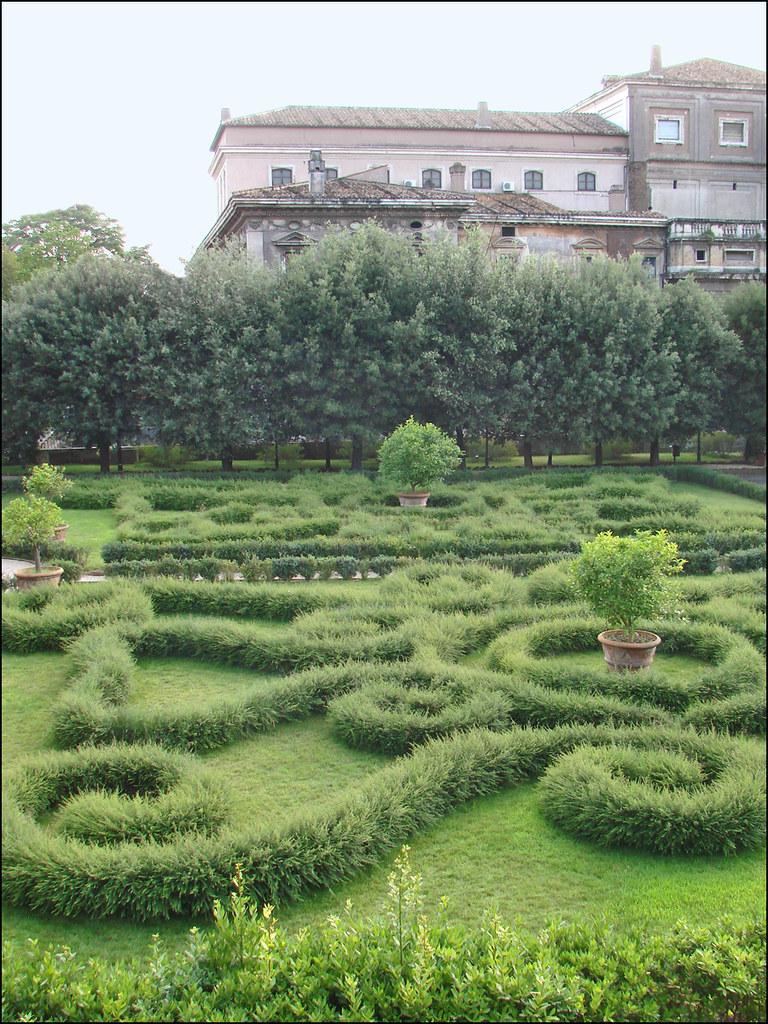 Le jardin du palais barberini rome le jardin l for Le jardin 3d