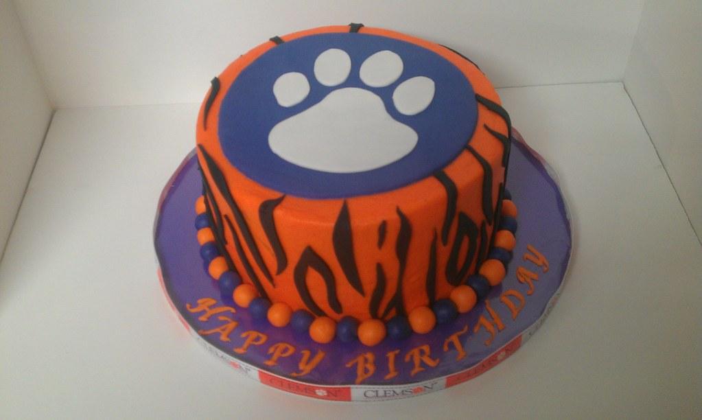 Clemson Tigers Paw Cake Casey Yake Flickr