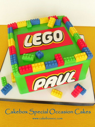 Paul's Lego Cake | by Cakebox Special Occasion Cakes