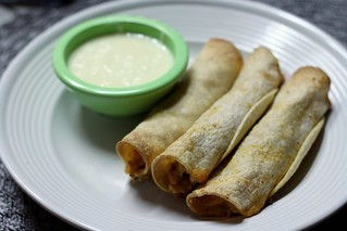 Creamy Chicken Taquitos | by niftyfoodie
