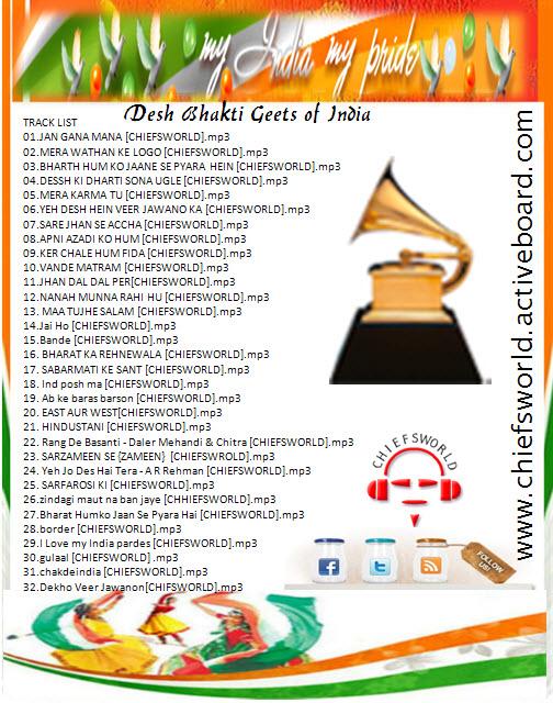 New Desh Bhakti Songs Mp3, Best MP3 Download Free