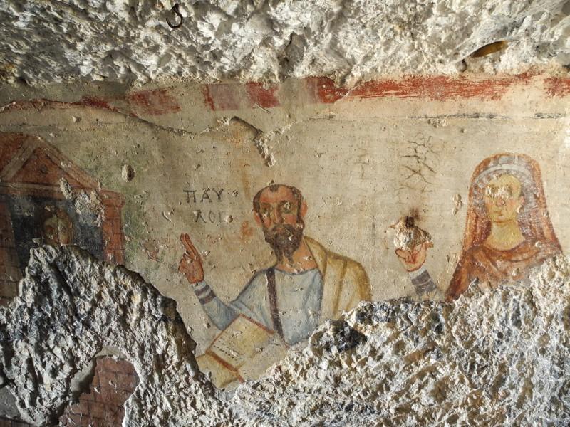 paul and thecla fresco