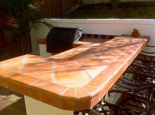 Spanish Tile Kitchen Countertops