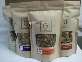 New packaging: Get Gingersnapping | by Granola Lab