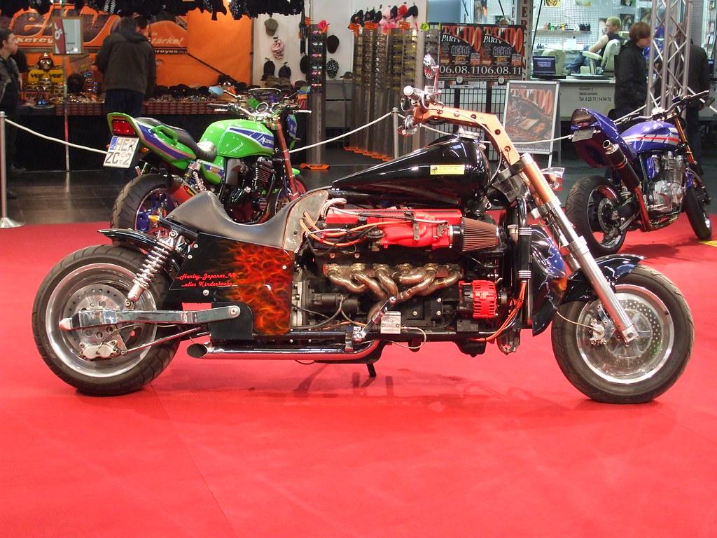 New Aston Martin >> Motorcycle with ASTON MARTIN V12 Engine | KLAUS FUNKE | Flickr