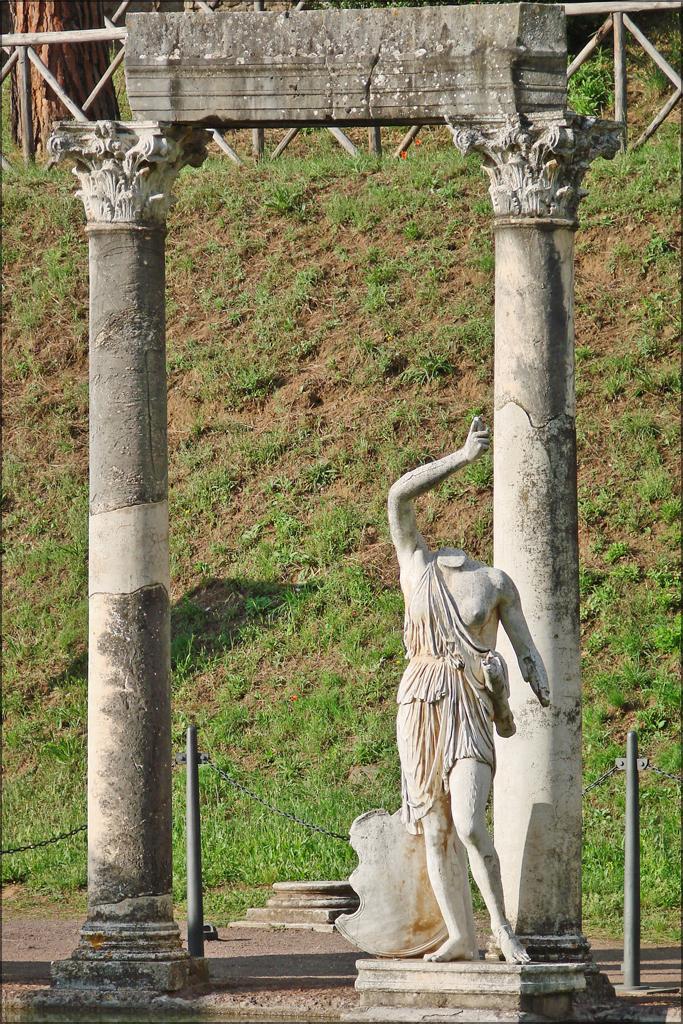 Le Canope  Villa Adriana  Tivoli
