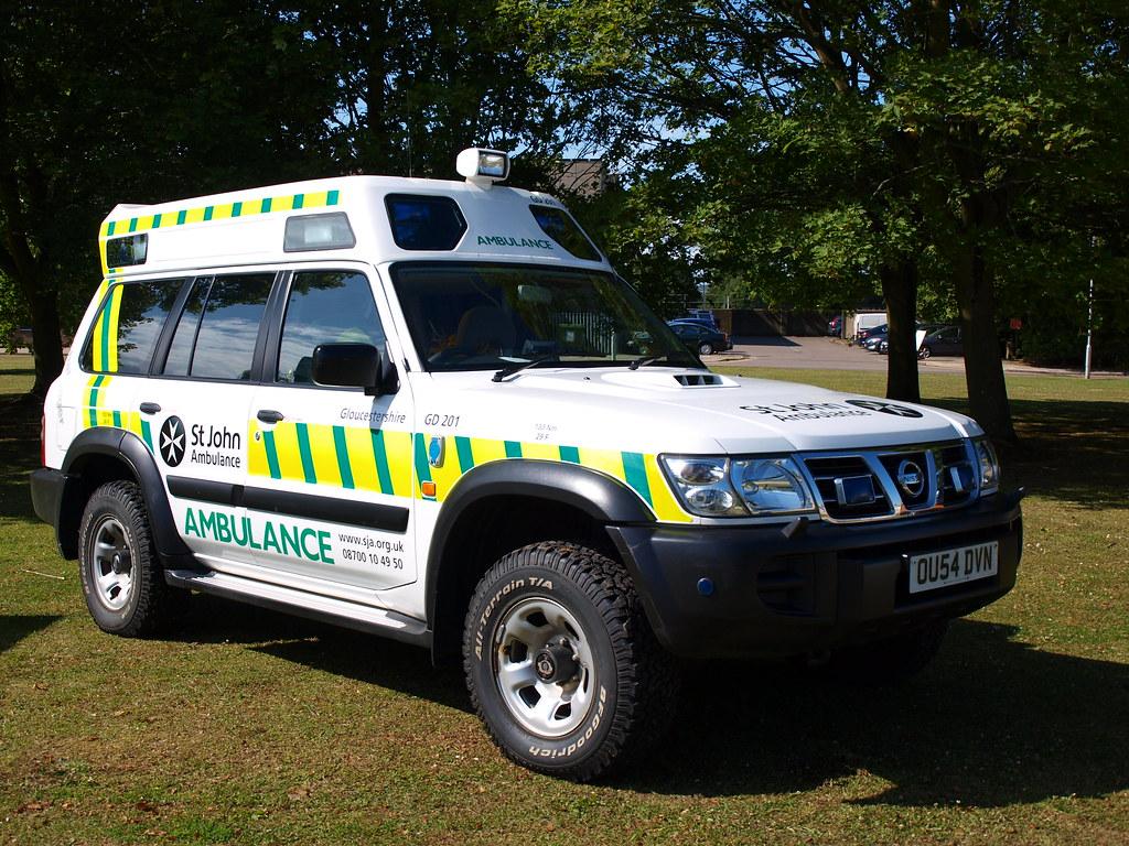 St John Ambulance Service Nissan Patrol 4x4 Response V