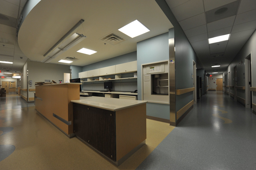Fort Belvoir Community Hospital An Interior View Of One