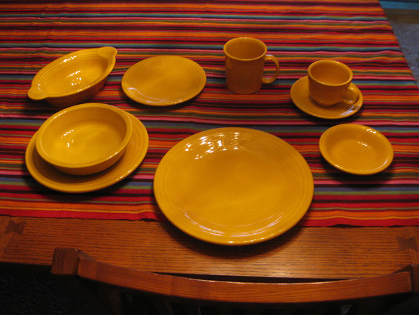 Marigold fiestaware pieces | by Embracing Entropy Marigold fiestaware pieces | by Embracing Entropy : fiestaware marigold dinner plate - pezcame.com