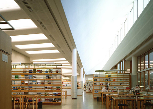 Aalto: Library of Otaniemi University Helsinki | Christof Wittig | Flickr