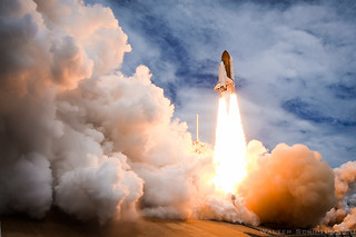 Final Launch of America's Space Shuttle | by Scriptunas Images