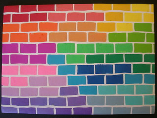 1000 + 1 Rainbows - The wall | by klio1961