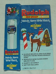Vintage Rudolph Melody Watch | by scotty12869