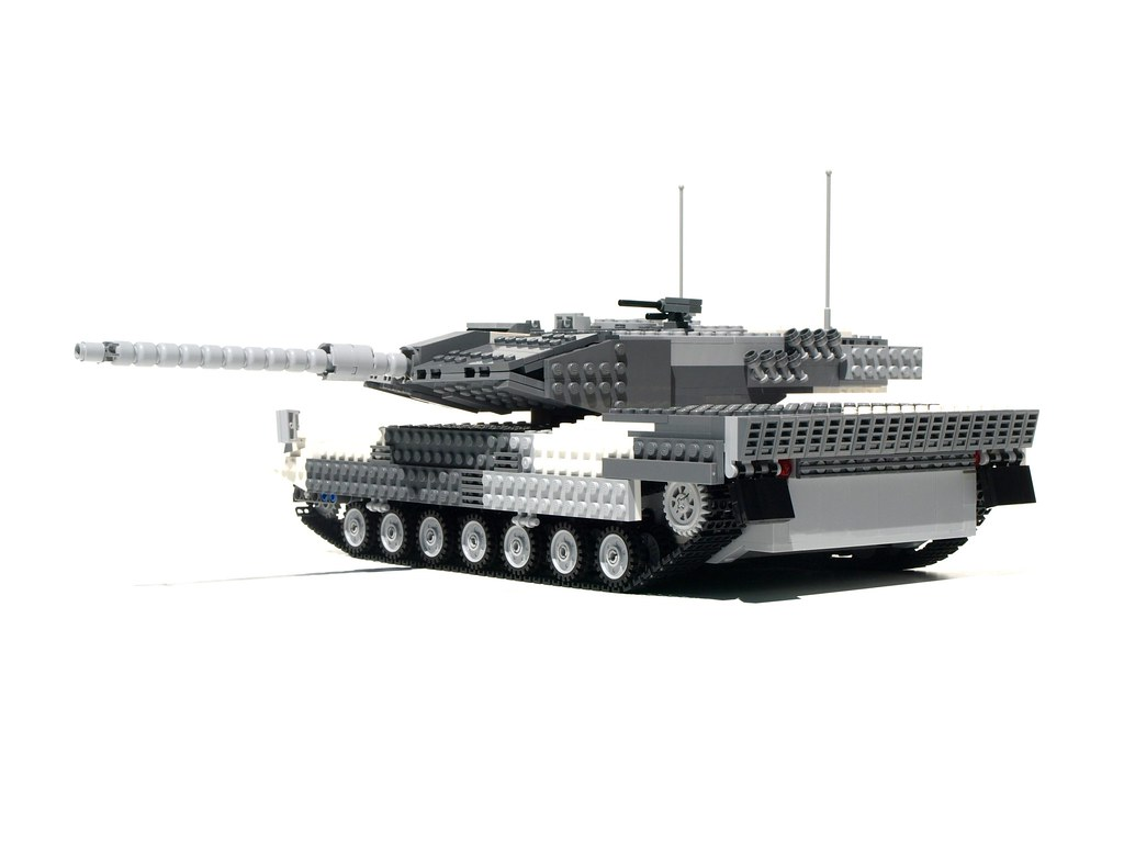Lego Leopard 2a6 Tank 3 1 24 Scale Lego Leopard 2a6
