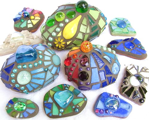 New Mosaic Stones | by Waschbear - Frances Green