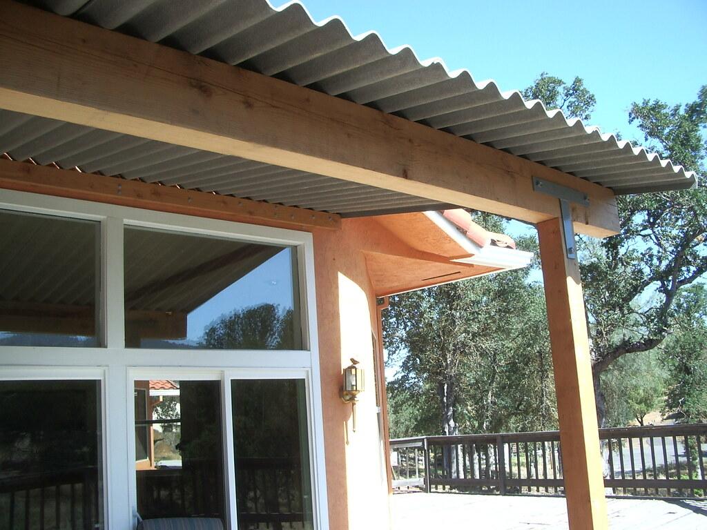 Profile 6 Patio Cover Profile 6 Corrugated Fiber Cement