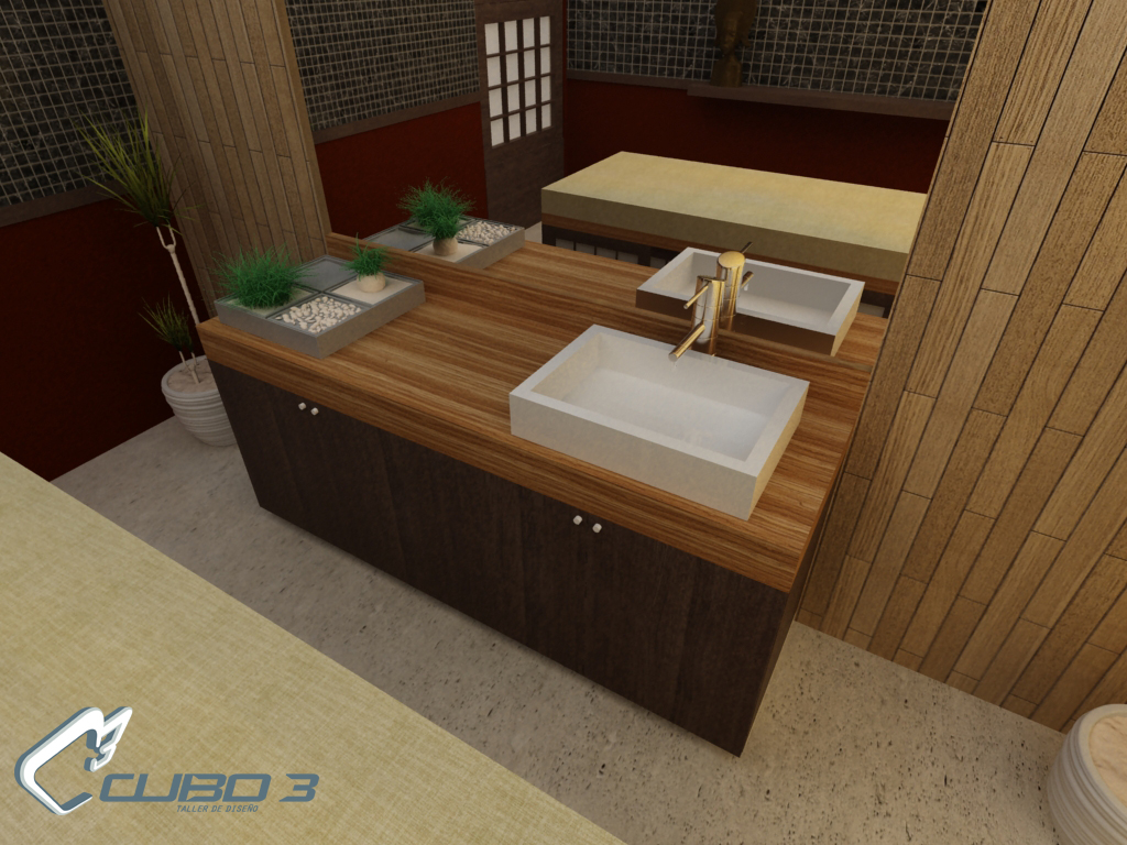 Mesa de tocador para spa lavabo para cuarto de masajes c for Mobiliario de diseno