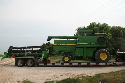 new combine arrives! | by cheeses