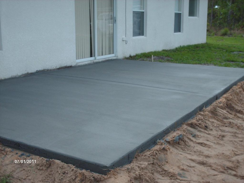 Etonnant ... 12u0027 X 20u0027 Patio Slab | By Concrete Specialists