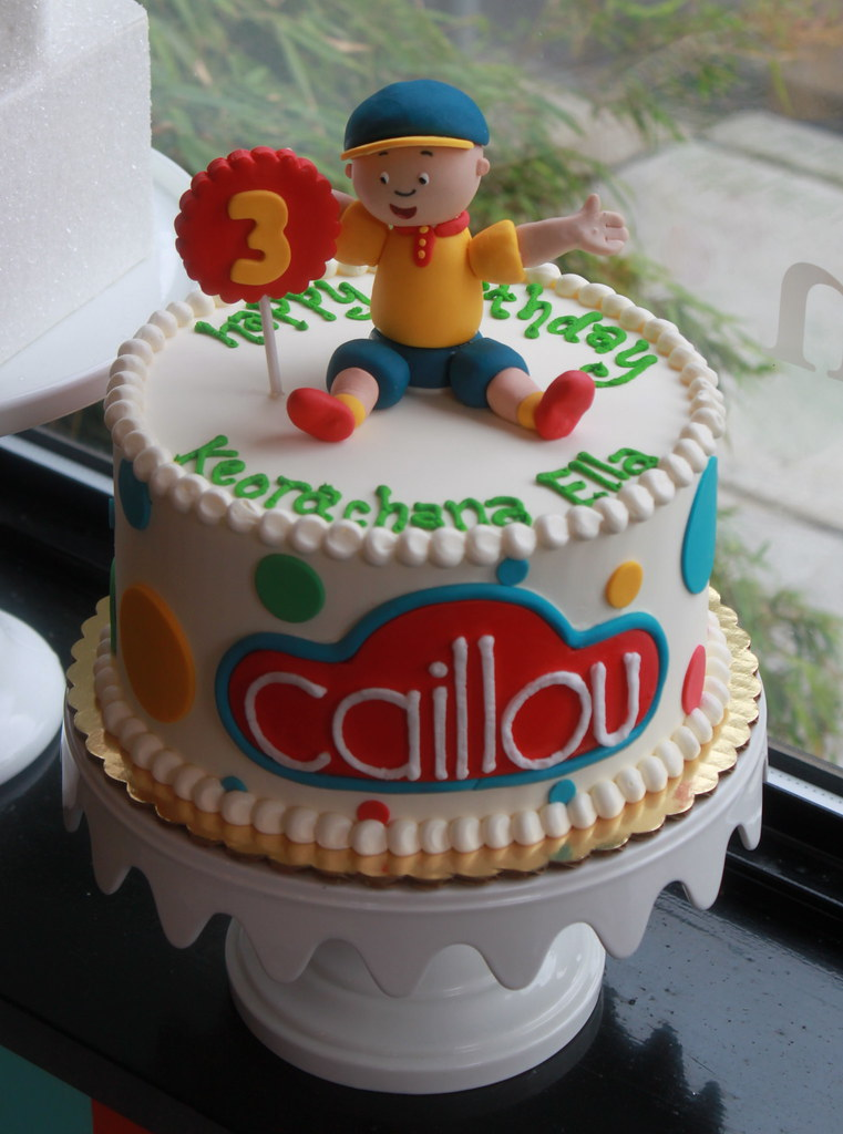 Caillou Birthday Cake Zoe Lukas Flickr