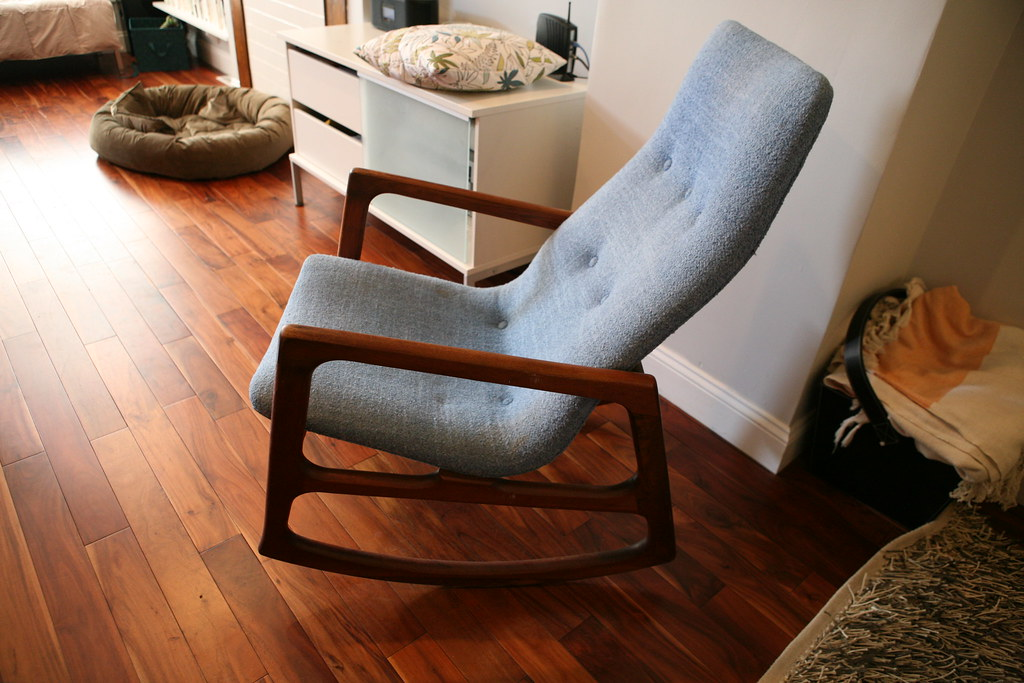 ... Mid Century Rocking Chair | By Baltimore Rowhouse
