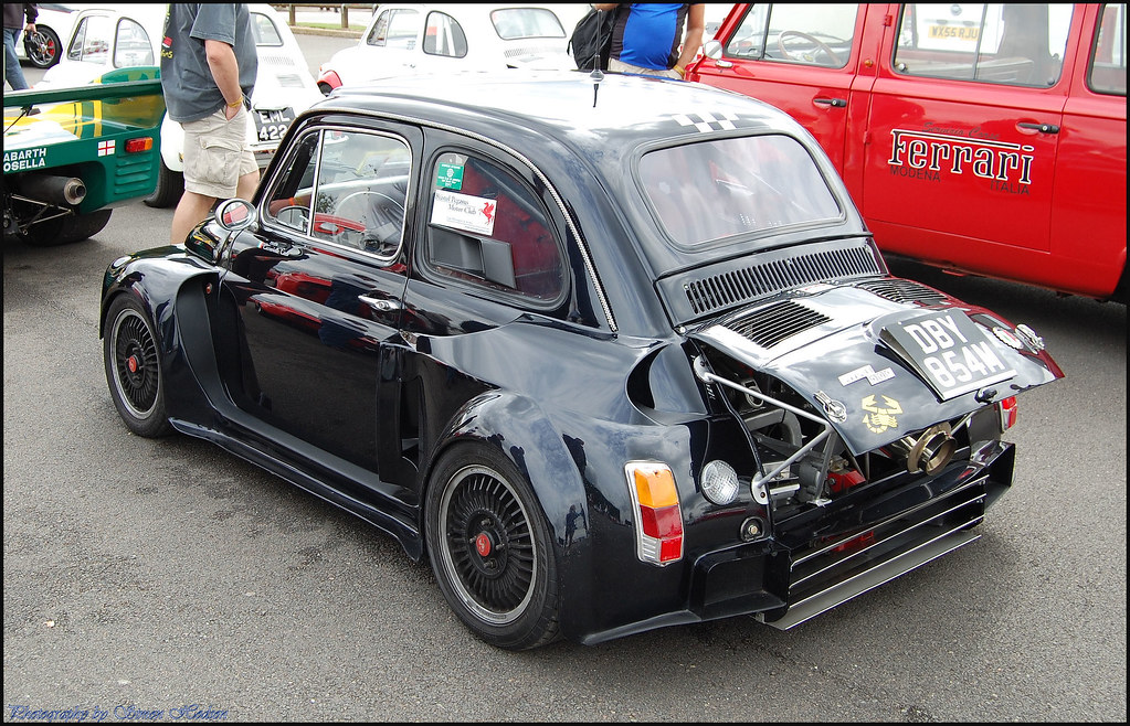 Silverstone Classic 2011 Fiat 500 Abarth Si Flickr