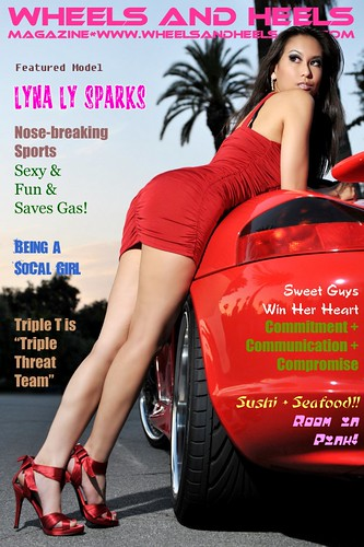 !WheelsAndHeelsMag.com - Lyna Ly Sparks (0) Cover | by W&HM - Wheels and Heels Magazine