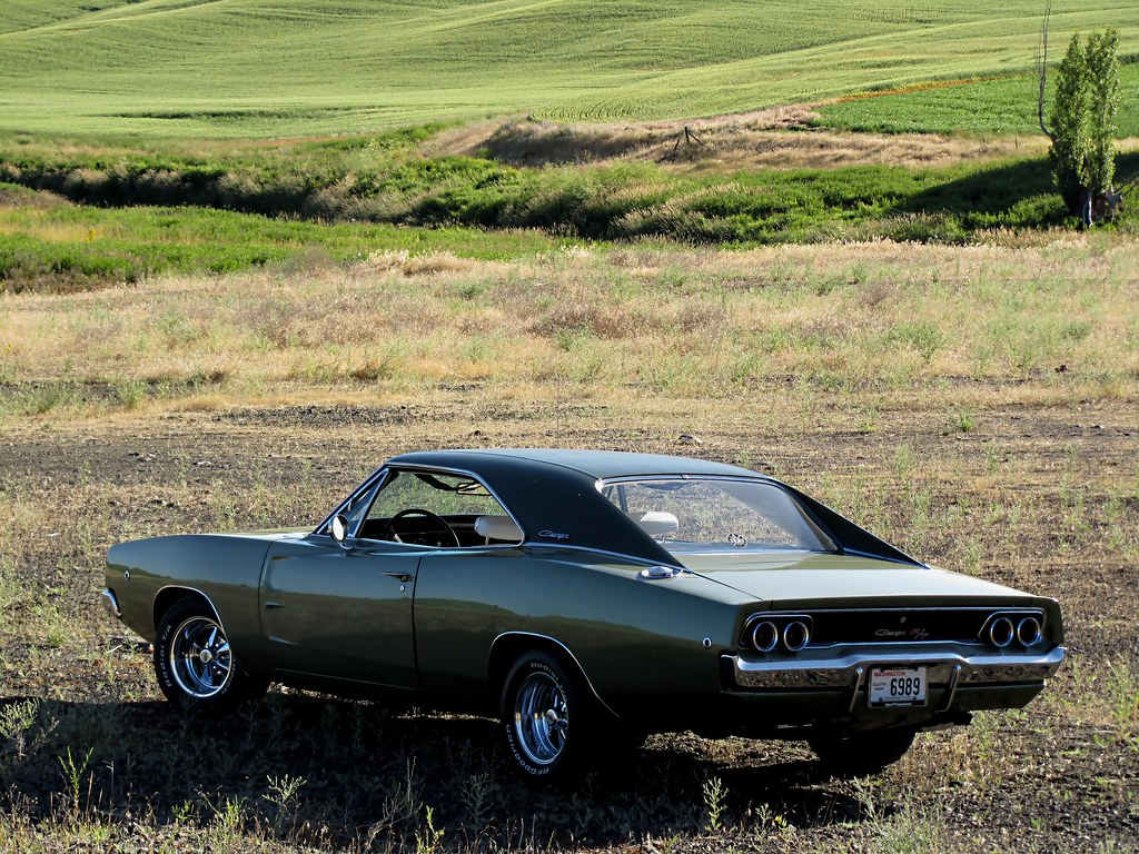 1968 Dodge Charger R/T - The Palouse (The Clic Shot) | Flickr