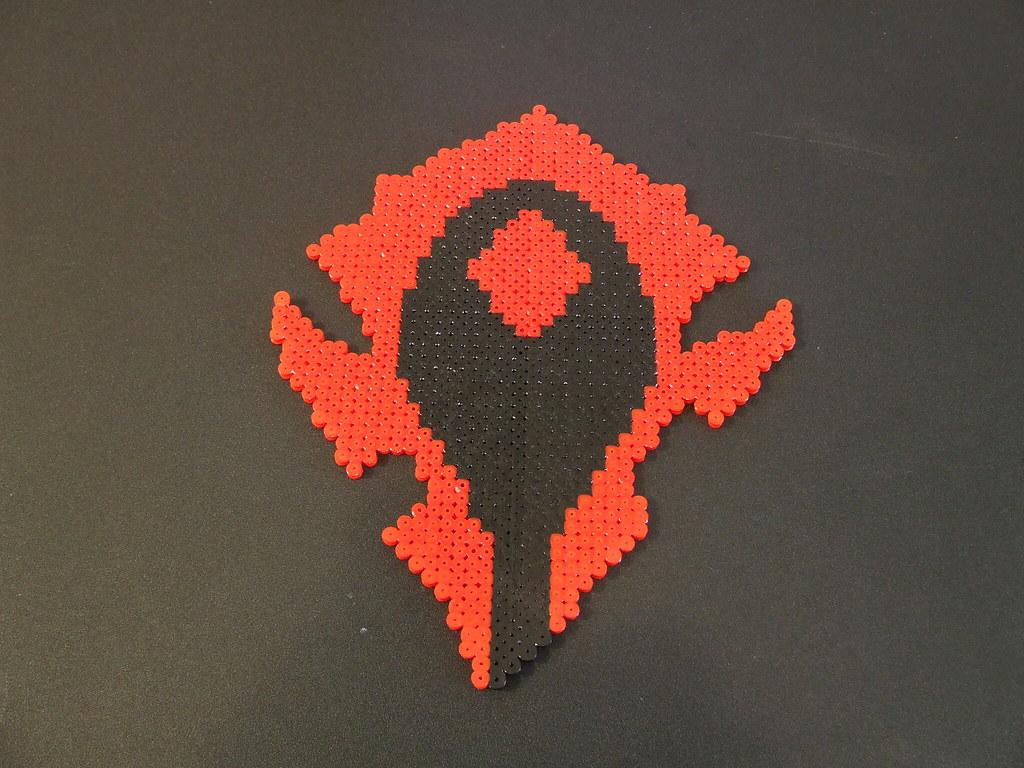 Wow Horde Symbol Bobbie Jane Desforges Flickr
