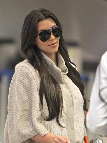 Kim Kardashian Sunglasses American Socialite Actress