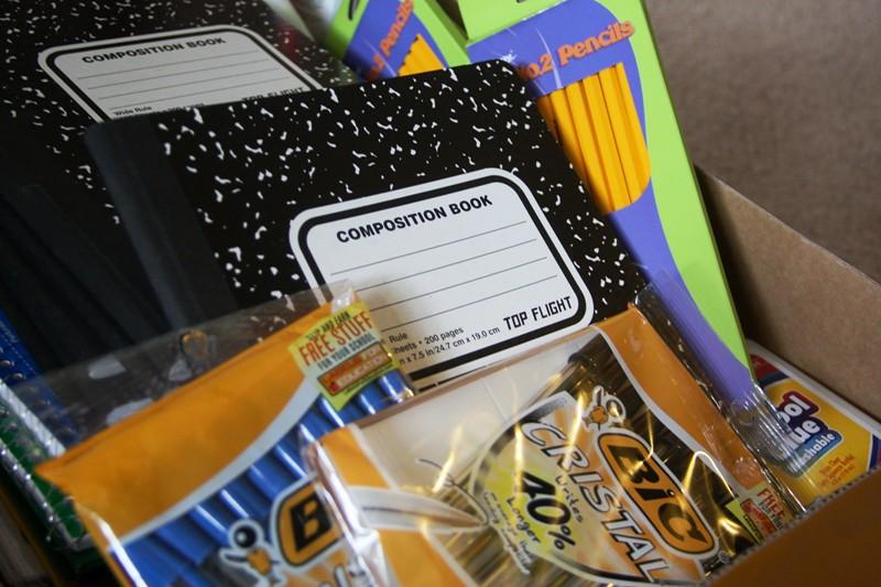 Free School Supplies Giveaway In Rhode Island