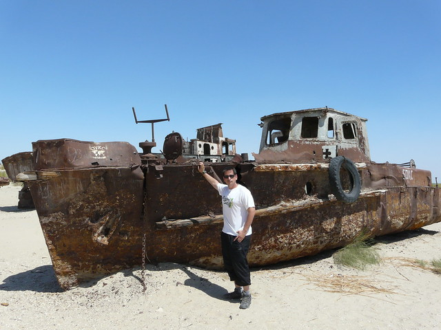 Sele en el Mar de Aral (Uzbekistán)