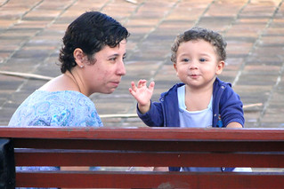 Mother and Son in Park - Olinda - Outside Recife - Brazil | by Adam Jones, Ph.D. - Global Photo Archive