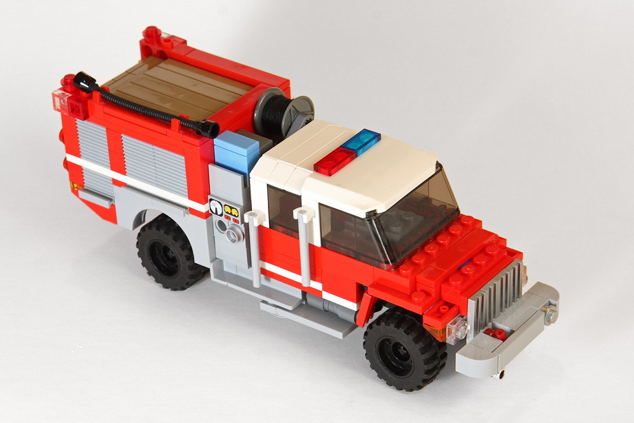 Lego Fire Station Building Instructions