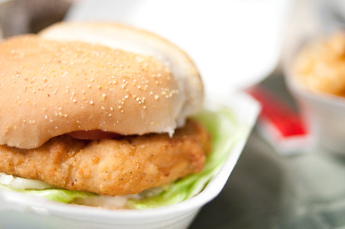 "Dixie Lee chicken ""burger"" 