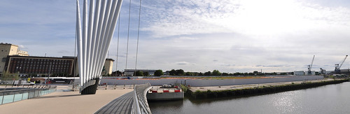 Panoramic view of Construction site for new ITV studio | by jonnywalker