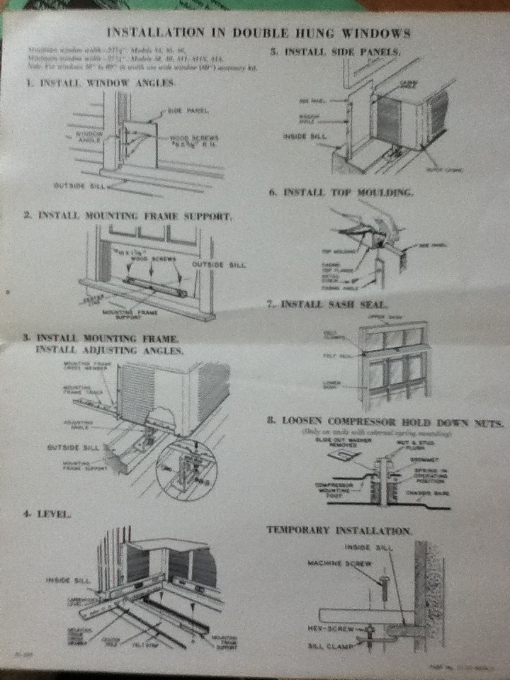 1951 Fedders Installation Instructions 1 | 1951 Fedders Inst… | Flickr