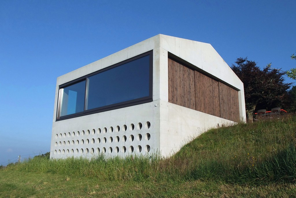 Swiss Concrete Architecture Now It Is Finished The