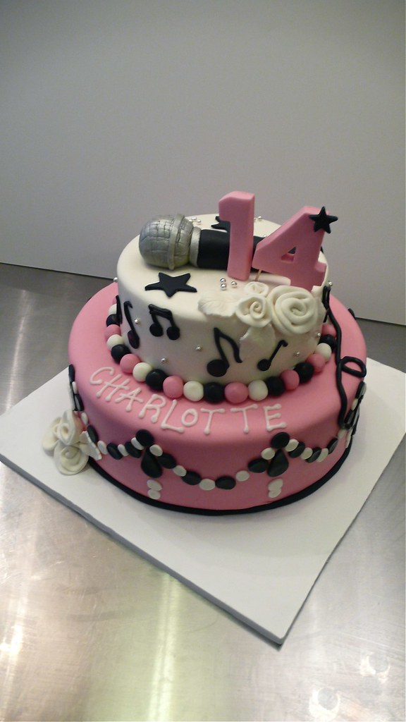 Teenager Jobs: Birthday Cake Made For A Teenage