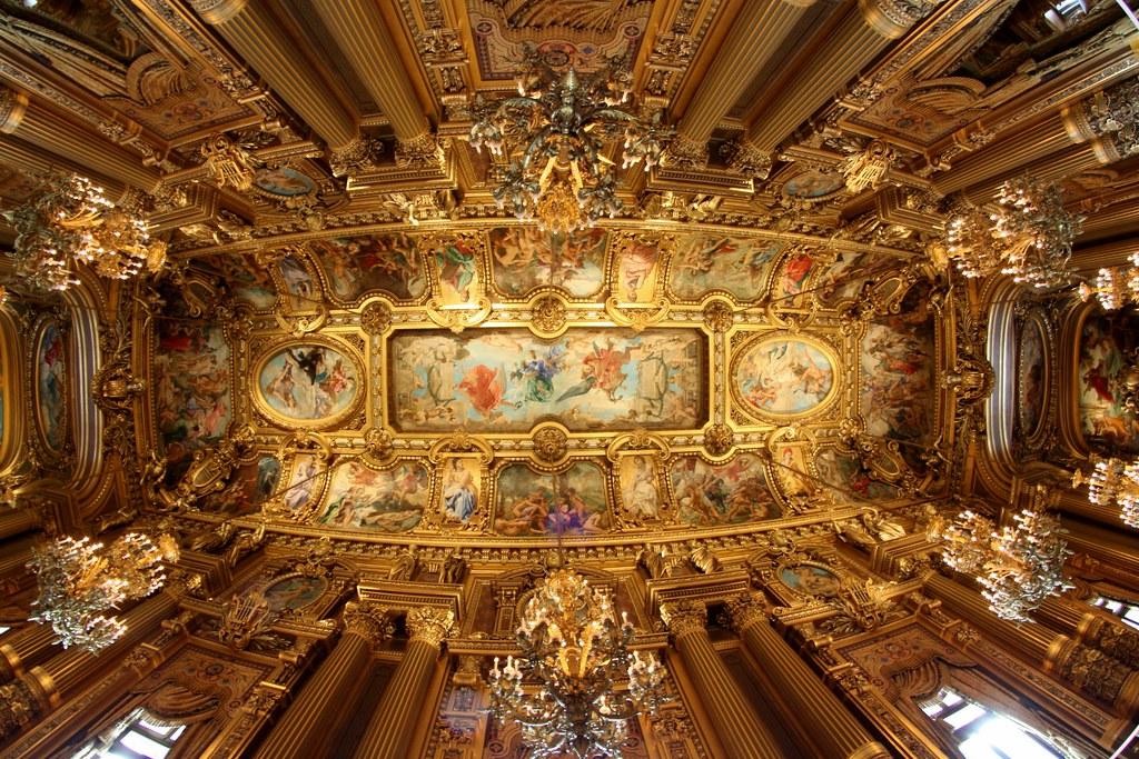 Le Grand Foyer Medicis : Le grand foyer palais garnier paris france see where