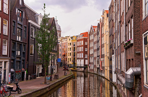 Nice channel in Amsterdam | by Tambako the Jaguar