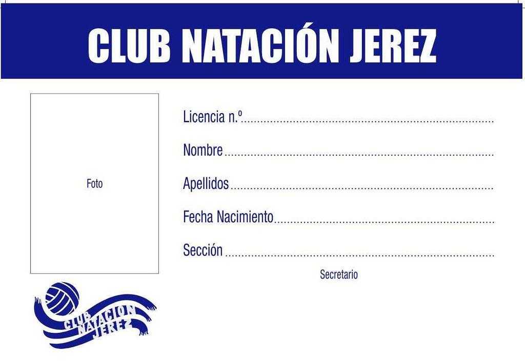 Club natacion jerez carnets 2 club natacion jerez dkv for Planos de piletas de natacion