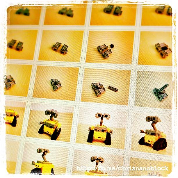 Nanoblock Wall E Build Instructions At Httptinynano Flickr