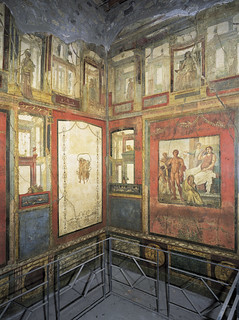 Fourth-style wall painting from the Ixion Room | by Ellis Art History