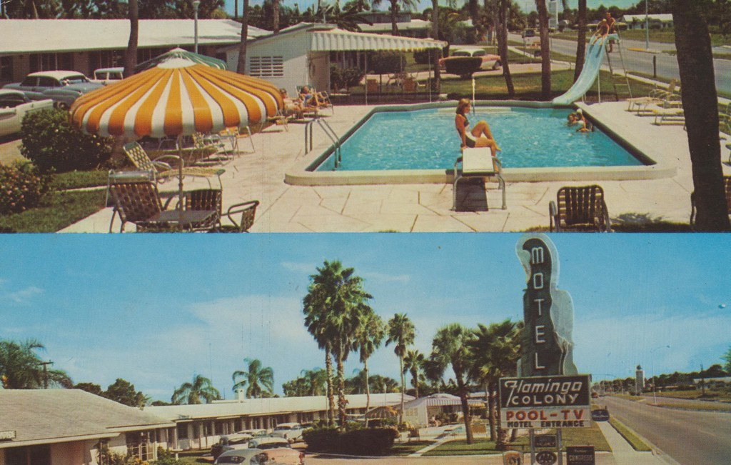 Flamingo Colony Motel - Sarasota, Florida